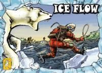 Ice Flow is a strategic family game, interesting enough for gamers, as there are many tactical decisions to make.  Players race their explorers across the Bering Strait from Alaska to Siberia - riding ice floes, dodging polar bears, and collecting useful items on the way. The winner is the first player to arrive in Siberia with his three explorers intact.