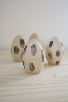 Polka Dot Fingerprint Eggs