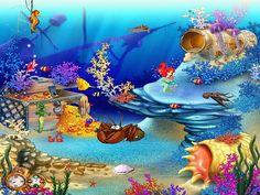 Free Aquarium Screensaver - Animated Aquaworld