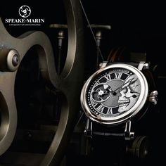 Did you know this exceptional timepiece of the Cabinet des Mystères : the Silver Skull.  www.speake-marin.com #speakemarin #skull