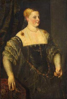 ab. 1570 Unknown Italian artist - Portrait of a woman