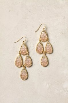 Cichlid drop earrings from Anthropologie.