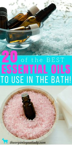 Use These 20 Essential Oils In Bath Water! – The Organic Goat Lady Best Essential Oils In Bath, Essential Oil Recipes, Aromatherapy Recipes, Natural Beauty, Natural Body Care Use These 20 Essential Oils In Bath Water! – The Organic Goat Lady Essential Oils For Colds, Essential Oils Cleaning, Essential Oil Blends, Perfumes Dior, Easential Oils, Doterra Oils, Aromatherapy Recipes, Pure Oils, Best Oils