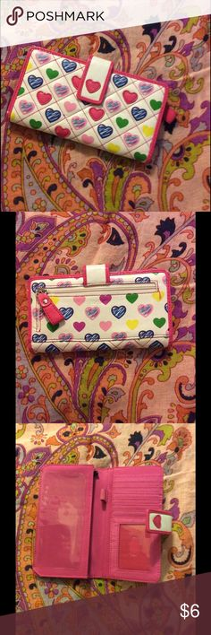 Heart wallet Perfect condition Accessories Key & Card Holders