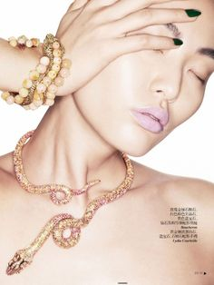 cool Vogue China Collections Verão 2013 | Bonnie Chen por Eric Maillet   [Editorial]