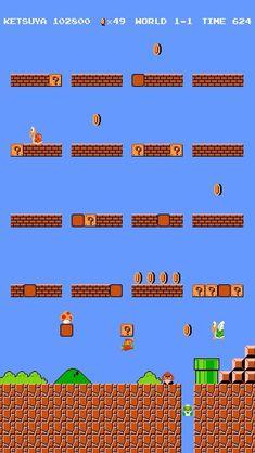 Super Mario Wallpaper For Phone phone wallpaper, Mario, iphone wallpaper, games wallpaper Game Wallpaper Iphone, Iphone Homescreen Wallpaper, Widescreen Wallpaper, Gaming Wallpapers, Iphone Background Wallpaper, Retro Wallpaper, Cellphone Wallpaper, Wallpaper Shelves, Super Mario Art