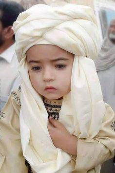 A Muslim kid.