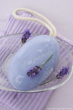 Lavender soap, the soothing scent lingers. Put some lavender sachet under your pillow to enjoy its fragrance throughout the night. Lavender Crafts, Lavender Soap, Lavender Fields, Lavender Color, Lavander, Lavender Wreath, Lavender Cottage, Color Lila, Malva