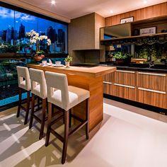 Pré-lançamento Maison Prestige, apartamentos em Maringá - A.Yoshii Engenharia e Construção Civil #varanda #varandagourmet