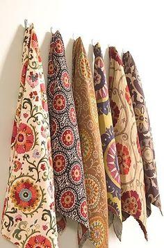 fabric swatches by mavis