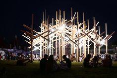 TREEDOM by Atelier YokYok for Sziget Festival
