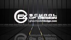 GFX SCHOOL AND STUDIO OF DESIGN ONLINE DYNAMIC WALL AND LOGO CONCEPT