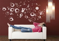 wall decal bubbles - Google Search