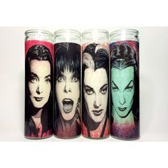 Elvira Mistress of the Dark Horror Prayer Candle by BlackFlameCandles on Etsy (null) Lily Munster, Halloween Decorations, Halloween Ideas, Halloween Candles, Halloween Vampire, Halloween Crafts, Halloween Costumes, Horror Decor, Gothic Furniture