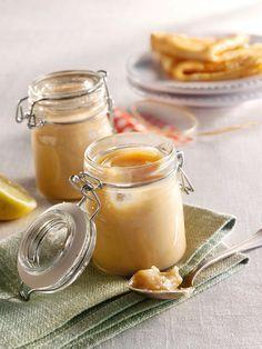 Bananenmarmelade mit Marzipan