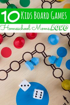 Looking to add some fun to your homeschool? These 10 Board Games that Homeschool Moms Love will are not only fun, but they're educational too!