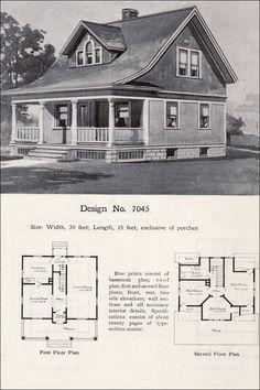 Design No. 7045  1908 Wilson & Girod Catalog by William A. Radford Co.