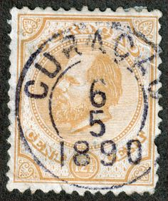 Netherlands Antilles Curacao Scott 8 12½¢ Yellow U H Fine Perf 12½  Great Cancel