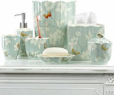 Martha Stewart Mariposa Tissue Holder on shopstyle.com