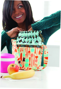 Sew Serendipity Bags ~ Free PDF Lunch Bucket Bag Pattern || Sew,Mama,Sew! Blog
