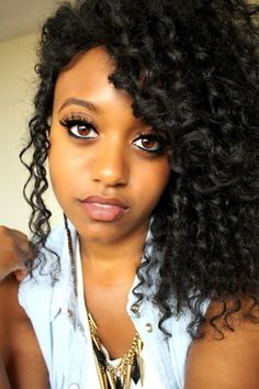 Natural Hair - twist out