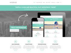 Interface free business wordpress theme