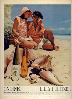 lilly pulitzer/ondine combo ad 1970s