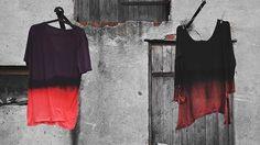 ombre t-shirts by goshko
