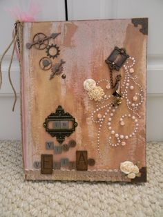 Another Altered Composition Book - Scrapbook.com