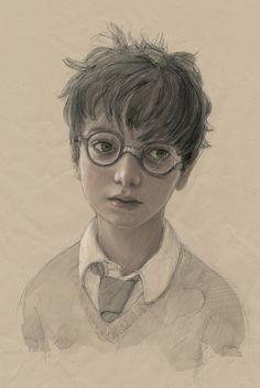 «Les illustrations de Jim Kay m'ont profondément émue,» a dit J.K. Rowling sur le livre. «J'adore son interprétation du monde de Harry Potter et je me sens honorée et reconnaissante pour son talent.» | Premières images du «Harry Potter et la chambre des secrets» illustré
