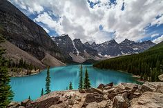 Very rarely do I open a picture with such an immediate WOW punch. This is fantastic +Joan Carroll #morainelake #banff #canada via @joancarroll