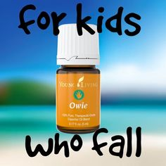 For kids who fall. #essentialoils