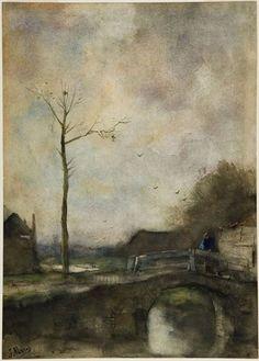 Landscape Dutch - Jacob  Maris