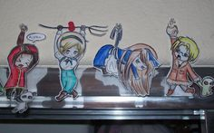 More Hetalia paper children by crystalice96.deviantart.com on @DeviantArt