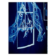 Blueprints Cotton Cyanotype Fabric Now sold in 1 yard pieces!   5 colors available.  $23/yd
