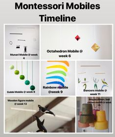 Diy Montessori Toys, Montessori Infant, Baby Timeline, Baby Gym, Baby Play, Baby Learning, Baby Development, Infant Activities, 6 Months