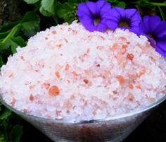 Lavender Aromatherapy Bath Salts
