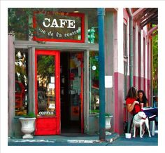 Rue De La Course. A French cafe in New Orleans. Another one of my favorite places.