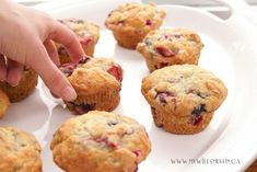 Frozen Mixed Berry Muffins | @MyWifesMuffin