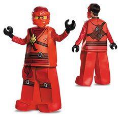 Child Prestige Ninjago Kai Costume – LEGO