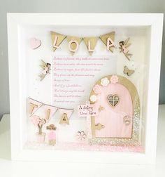 Fairy Frame, Fairy Garden Scene Box Frame, Fairy Door Frame, Fairy ...
