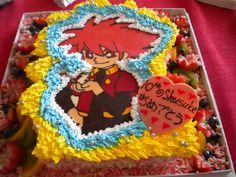 Shusuke's 10th birthday cake