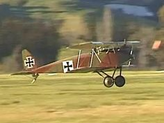 This short video of the Halberstadt D.IV shows it taxying and doing a couple of touch and goes at Omaka Aerodrome in Blenheim. This aircraft is now on static display in the Omaka Aviation Heritage Centre in Blenheim (New Zealand).
