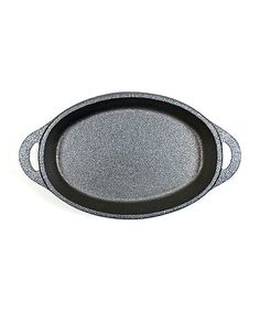 Take a look at this Cast Iron Single-Serve Oval Dish on zulily today!