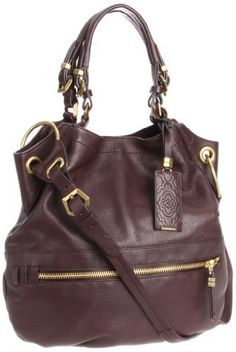 """Oryany Handbags Sydney SFL402 Shoulder Bag,Coffee,One Size Oryany Handbags. $227.99. 100% soft calfskin leather. Handle has a drop of 7 inches.. magnetic closure. 18.5"""" shoulder drop. Made in China. 16"""" wide. 14.5"""" high"""