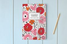 Floral Mix Day Planner, Notebook, or Address Book by j.bartyn at minted.com