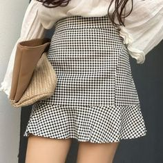 Buy Yako Gingham Mini Skirt at ! Quality products at remarkable prices. FREE Worldwide Shipping available!