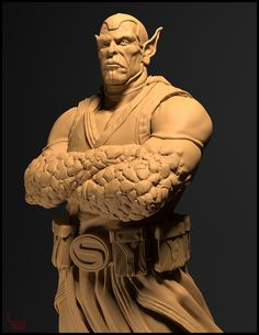 Superskrull by Loraine Howard III   Figurative   3D   CGSociety