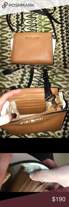 Brand new MK bag Used it for 2 weeks and haven't since then. No scratches. Crossbody  bag. Small sized. Payed $240 for it so keep that in mind when making an offer.👍🏽 Michael Kors Bags Crossbody Bags