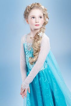 Fancy Princess Elsa Dress for Girls Clothing Baby Girl Role Play Halloween Cosplay Elza Costume Christmas Dresses With Crown, Ropa de niña, Wedding Dresses For Girls, Little Girl Outfits, Little Girl Dresses, Girls Dresses, Elsa Cosplay, Cosplay Dress, Frozen Cosplay, Vestido Elsa Frozen, Frozen Elsa Dress